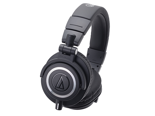 *【audio-technica.(オーディオテクニカ)】ヘッドホン ATH-M50x Black