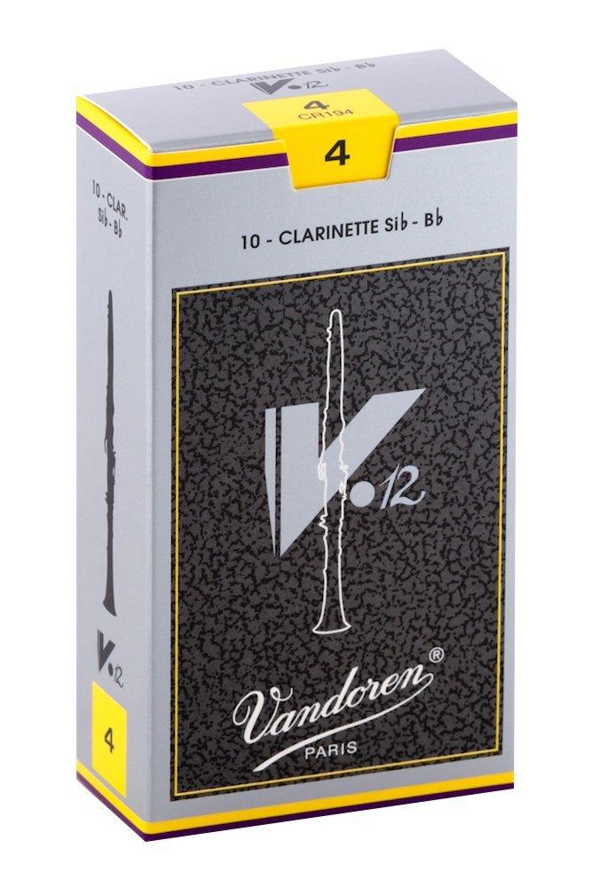Vandoren バンドレン リード B♭クラリネット CR194 新発売 V12 期間限定送料無料 4