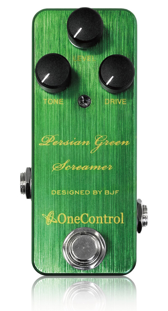 【One Control(ワンコントロール)】【チューブスクリーマー】Persian Green Screamer