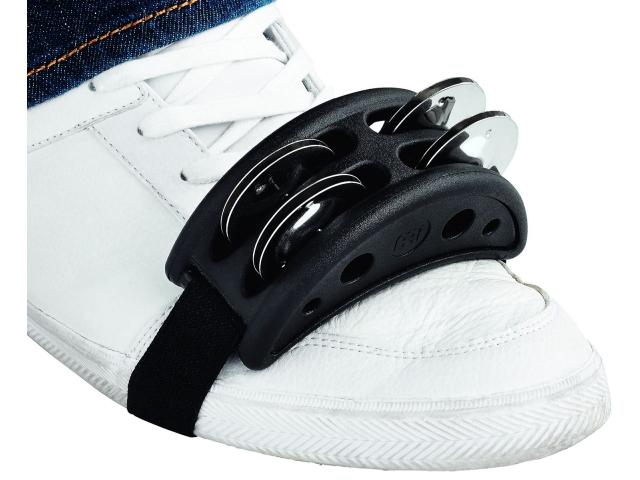 送料無料 MEINL マイネル フットジングルタンバリン Compact Jingle まとめ買い特価 Foot Tambourine セール商品 CFJS2S-BK