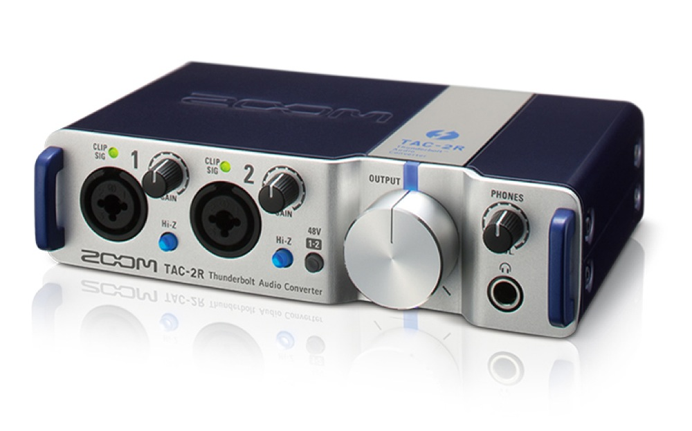 *【ZOOM(ズーム)】【レコーダー】TAC-2R 2in/2out Thunderbolt Audio Converter