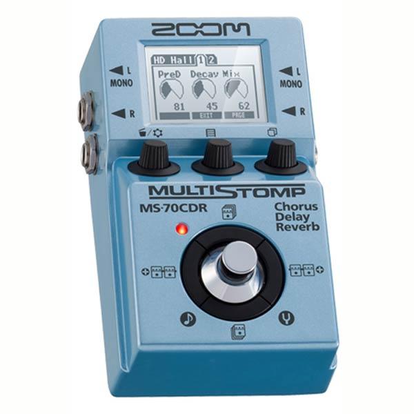 *【ZOOM(ズーム)】MULTI STOMP MS-70CDR