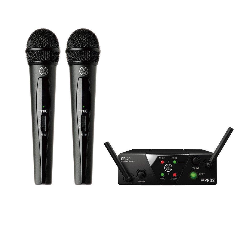 【AKG】【ワイヤレスマイク】【送料無料】 WMS40 PRO MINI2 VOCAL SET DUAL