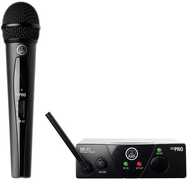 【AKG】【ワイヤレスマイク】【送料無料】 WMS40 MINI VOCAL PRO SET