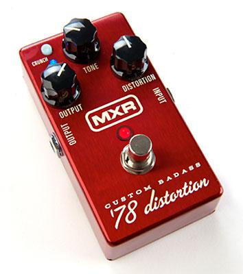 *【エフェクター】【MXR】【送料無料!】 M78 (M-78) Custom Badass '78 Distortion