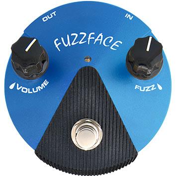 *【エフェクター】【Dunlop】【送料無料!】FFM1 Fuzz Face Mini Silicon