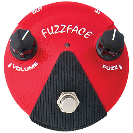 *【エフェクター】【Dunlop】【送料無料!】FFM2 Fuzz Face Mini Germanium