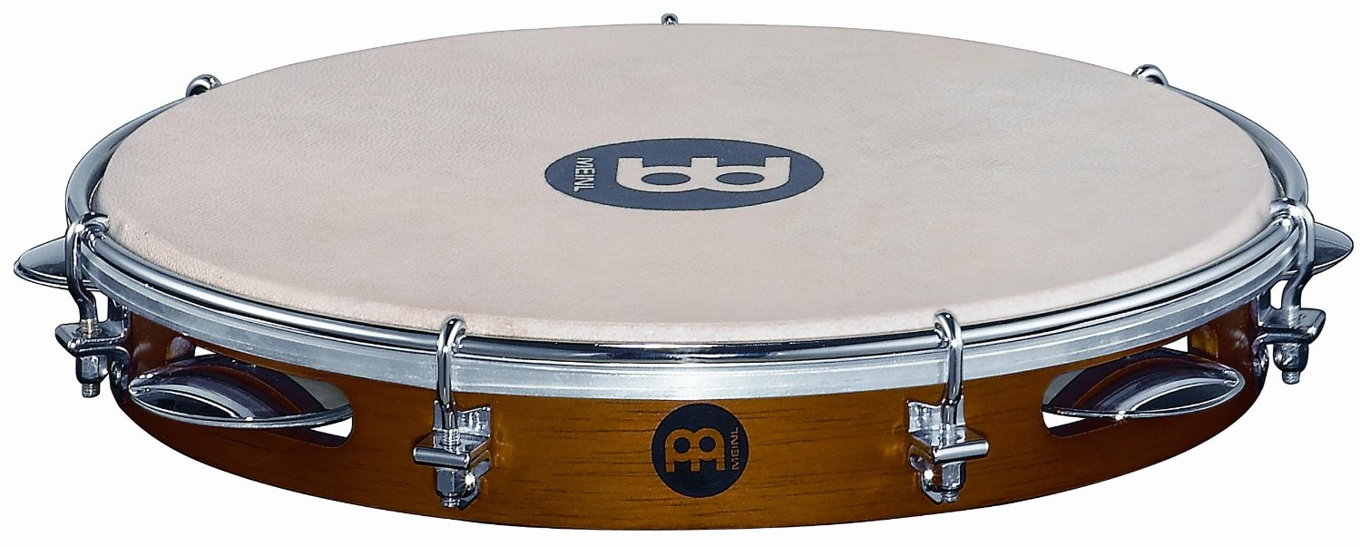 *【MEINL(マイネル)】パンデイロ Traditional Wood Pandeiro 10