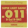 【ゆうパケット】【YAMAHA(ヤマハ)】【エレキギター弦】【バラ弦6本セット】 H1062 2弦 .011インチ