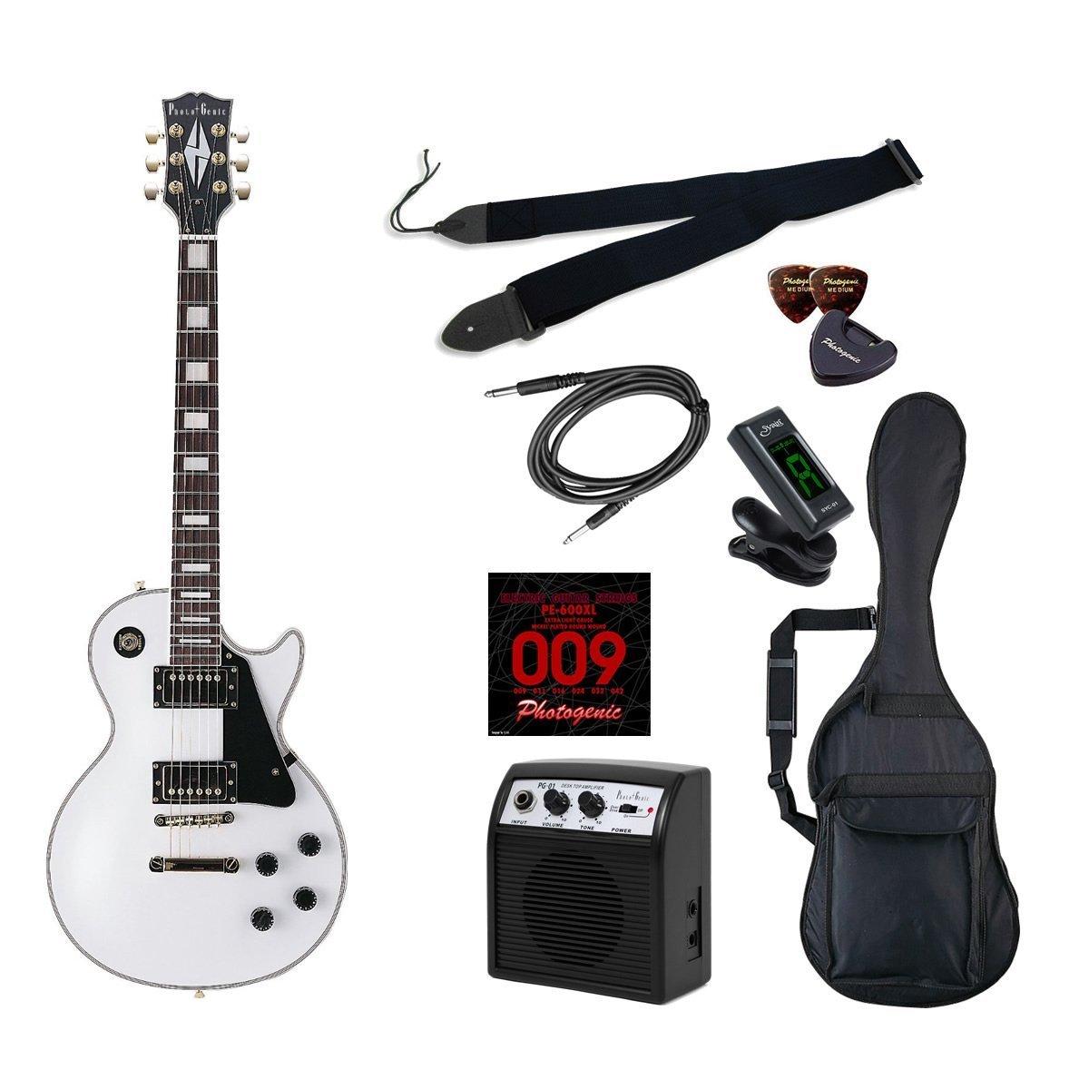 *【代引不可】【Photogenic(フォトジェニック)エレキギター】 LP300 初心者入門ライトセット