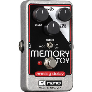 【electro-harmonix】Memory Toy(メモリートイ) アナログ・ディレイ