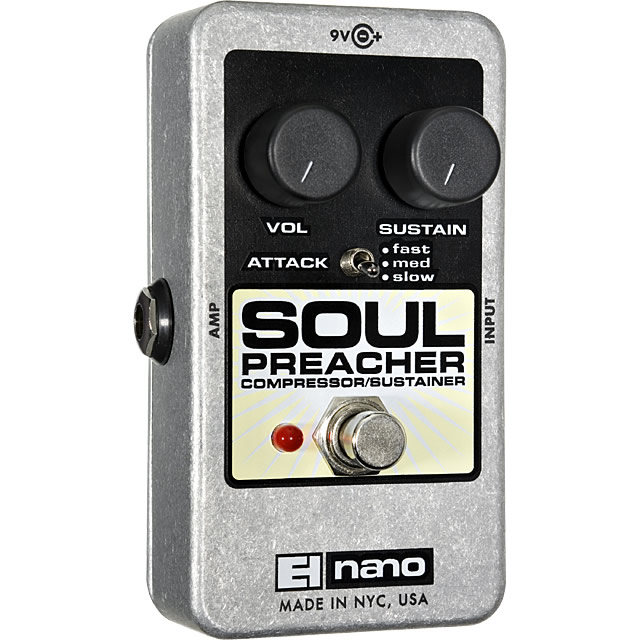 【electro-harmonix】Soul Preacher(ソウルプリーチャー) コンプレッサー/サスティナー