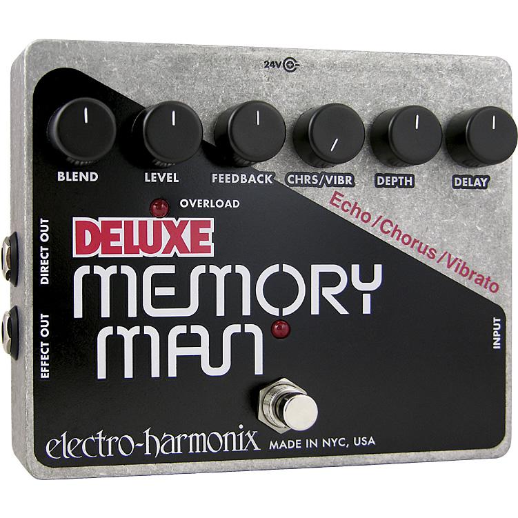 【electro-harmonix】Deluxe Memory Man(デラックスメモリーマン) アナログ・ディレイ/コーラス/ビブラート