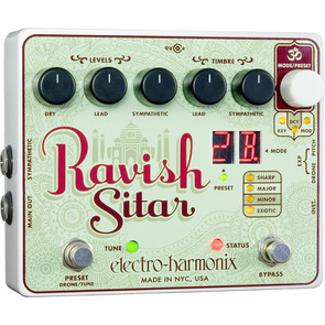 【electro-harmonix】Ravish Sitar(ラビッシュ) シタール・サウンド