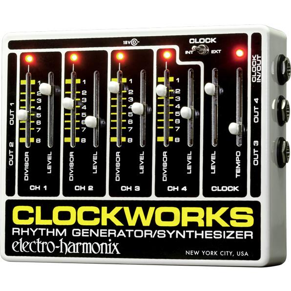 正規品送料無料 electro-harmonix Clockworks クロックワークス リズムジェネレーター 大規模セール
