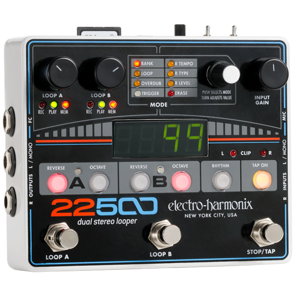 【electro-harmonix】22500 デュアル ステレオ ルーパー
