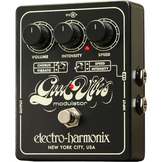 【electro-harmonix】Good Vibes (グッドヴァイブズ) アナログモジュレーター