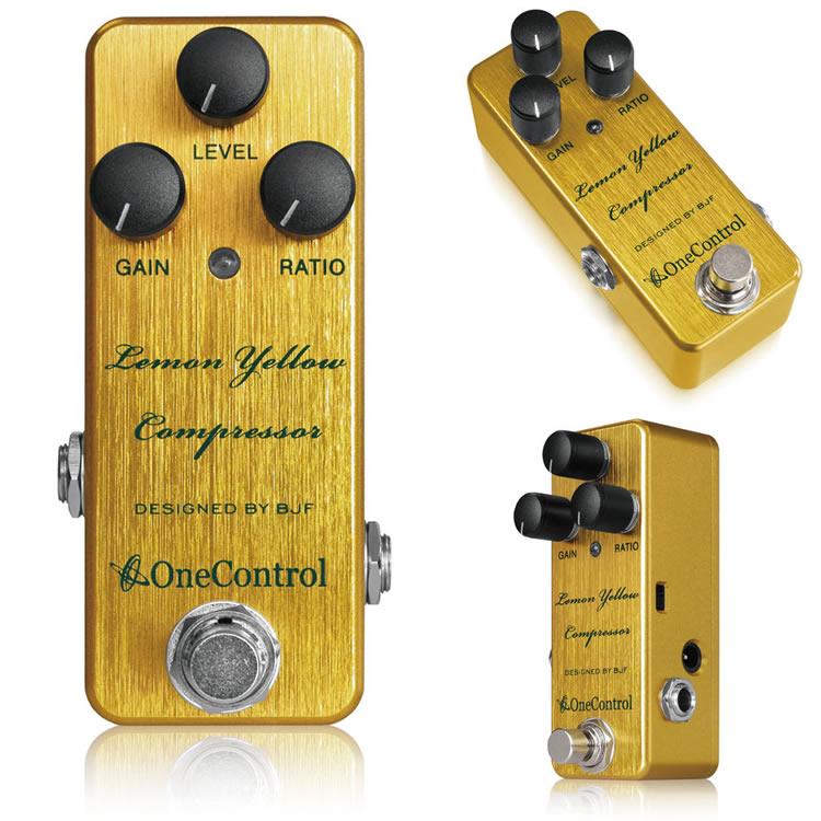 【One Control(ワンコントロール)】【コンプレッサー】 Lemon Yellow Compressor レモンイエローコンプレッサー
