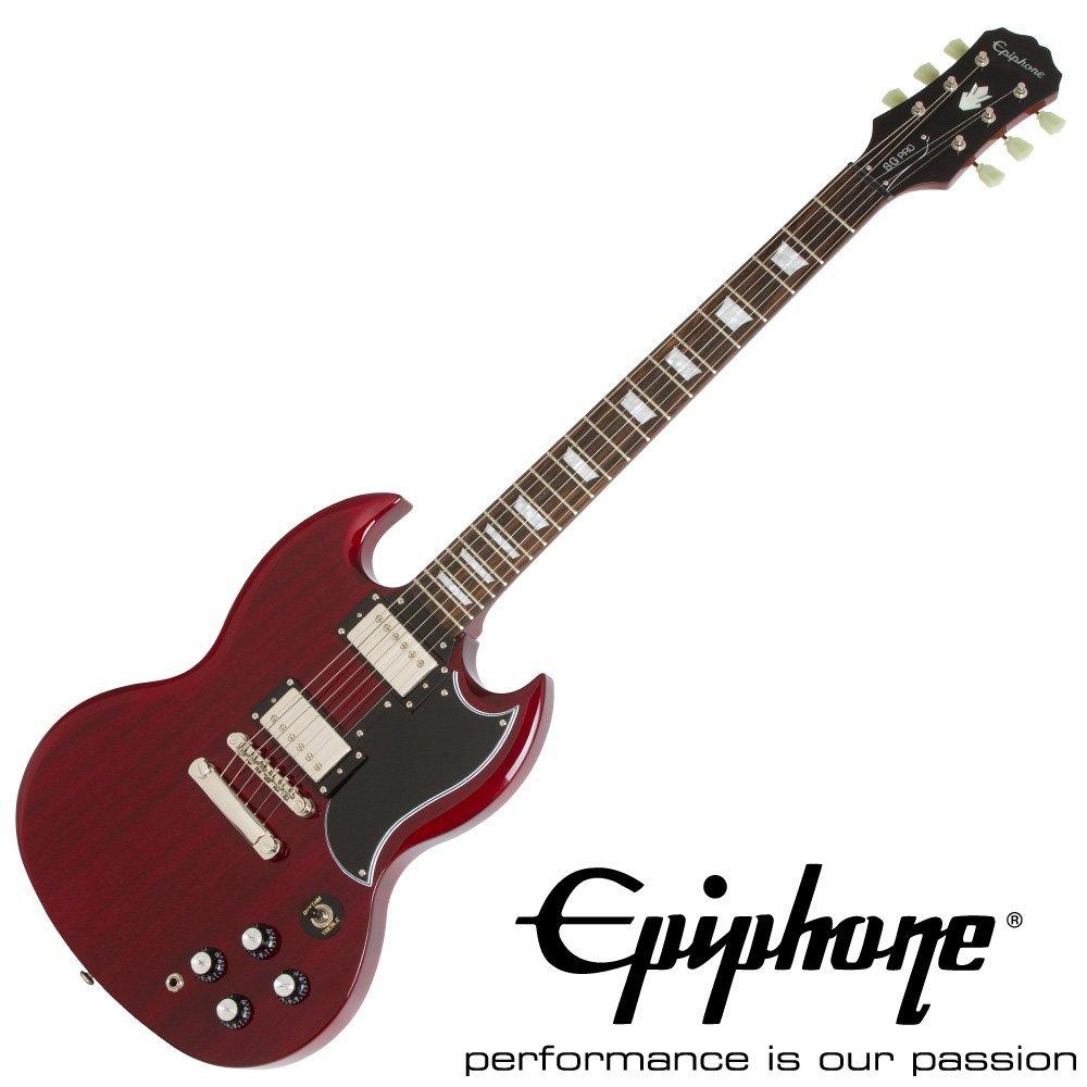 【代引不可】【Epiphone エピフォン】 G-400 PRO (Cherry)