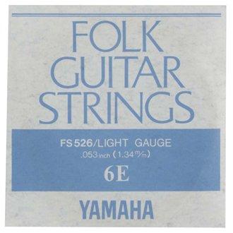 ゆうパケット 送料無料 結婚祝い YAMAHA アコギ弦 FS526 バラ弦6本セット 6弦 .053インチ 購入