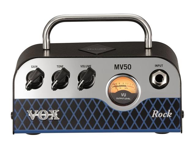 *【VOX(ボックス)】【ギターヘッドアンプ】 新真空管Nutube搭載 ギター・アンプ・ヘッド MV50 Rock タイプ