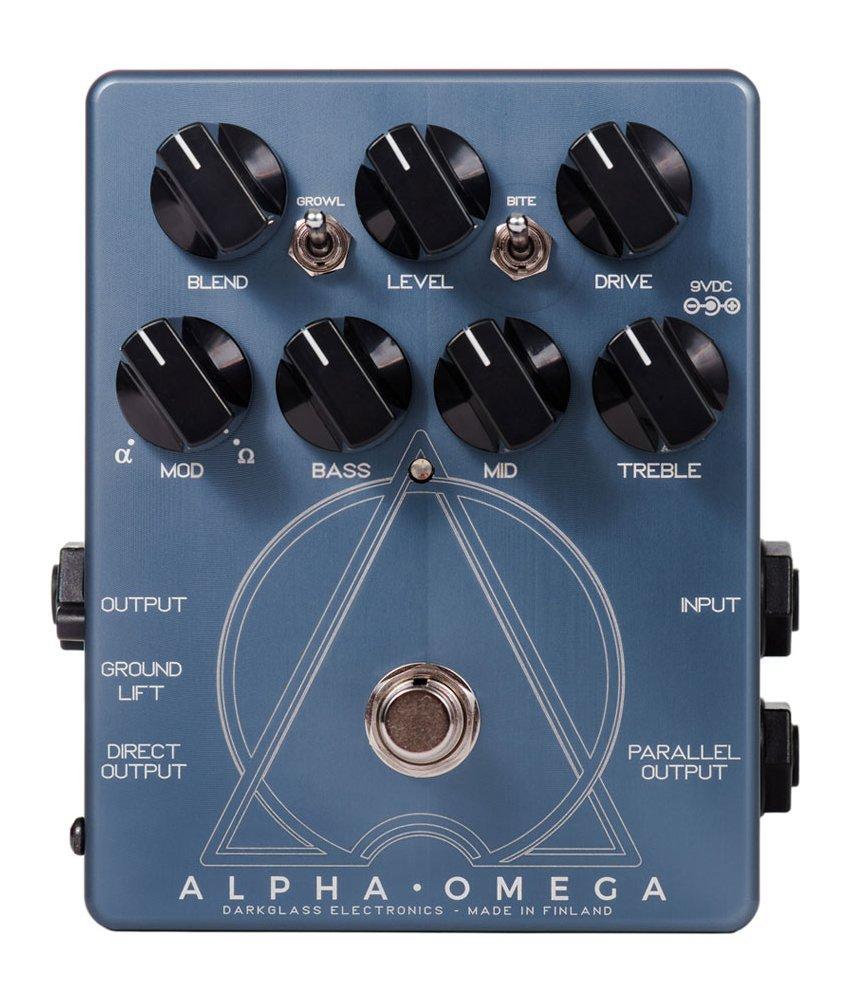 【Darkglass Electronics ダークグラスエレクトロニクス】ベース用オーバードライブ/プリアンプ Alpha Omega