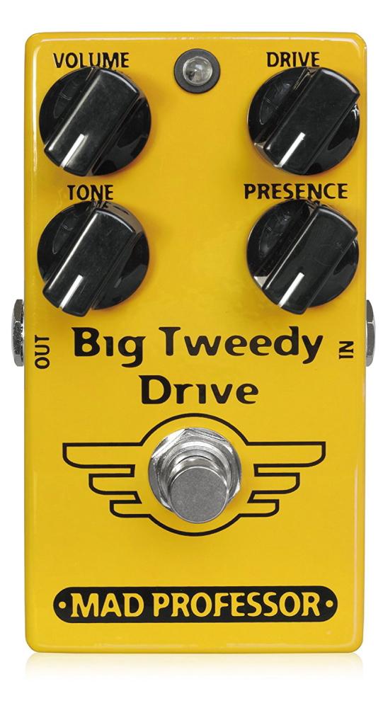 *【送料無料!】【MAD PROFESSOR】【エフェクター】Big Tweedy Drive