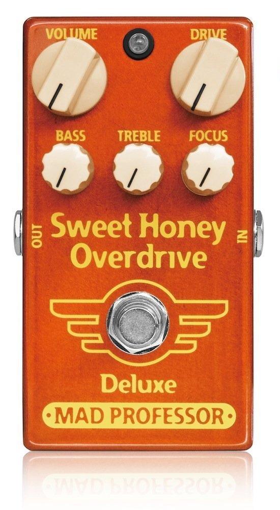 *【送料無料!】【MAD PROFESSOR】【エフェクター】オーバードライブ (New) Sweet Honey Overdrive Deluxe