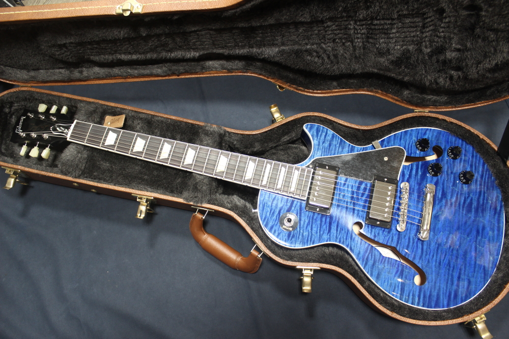 *【Gibson(ギブソン) Memphis】【代引不可】 ES-Les Paul Blue Stain