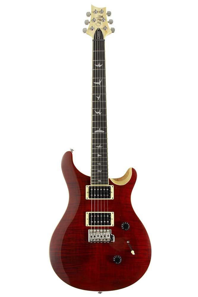 【代引不可】【PRS(ポールリードスミス)】エレキギター Japan Limited SE CUSTOM 24 Bird Inlay [Beveled Maple Top] (Black Cherry/Natural Back)