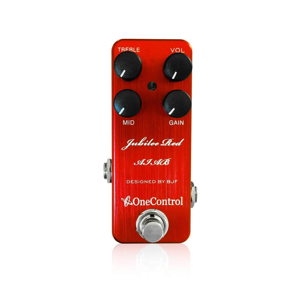 【One Control(ワンコントロール)】Jubilee Red AIAB ディストーション ギターエフェクター