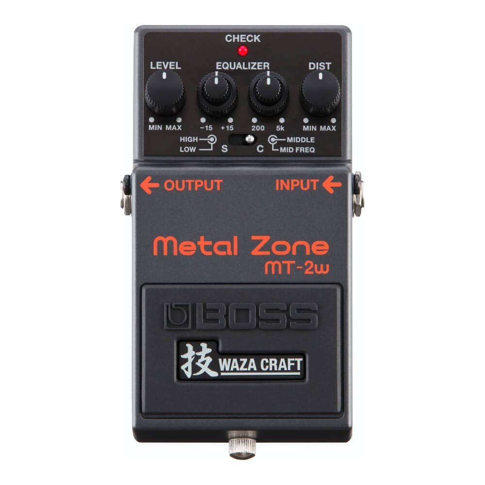 【BOSS(ボス)】【エフェクター】MT-2W Metal Zone MADE IN JAPAN 技 Waza Craft 日本製