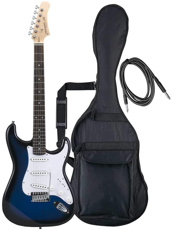 PhotoGenic フォトジェニック エレキギター ストラトキャスタータイプ ST-180/BLS ブルーサンバースト