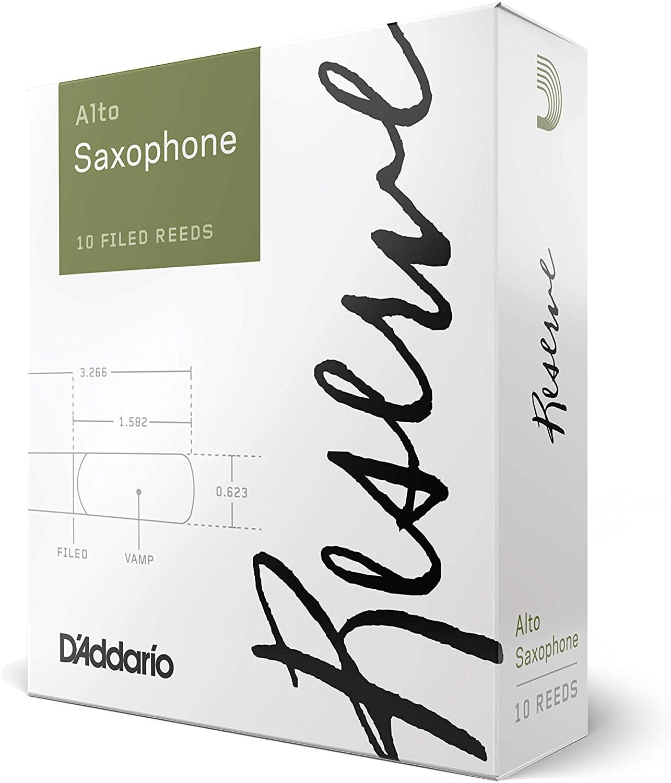 ゆうパケット RICO リコ D'Addario WoodWinds 直送商品 ダダリオ 10枚入り DJR1035 RESERVE 硬さ:3.5 アルトサックス用 [並行輸入品] リード
