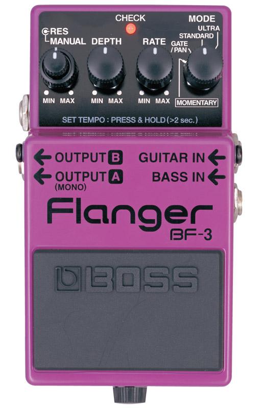 *【空間系】【BOSS(ボス)エフェクター】BF-3(フランジャー)