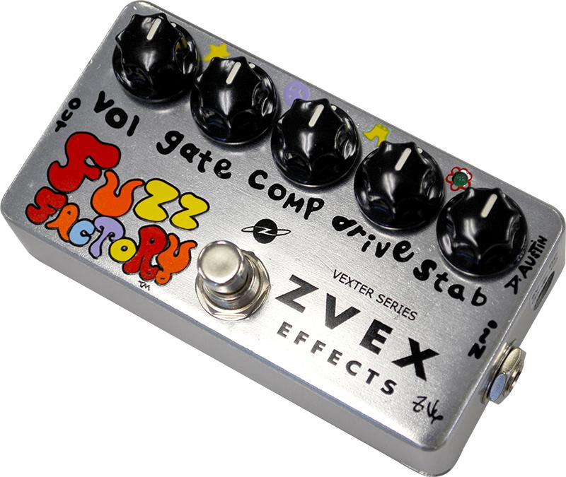 *【Z.VEX】【ファズ】エフェクター FUZZFACTORY ファズファクトリー Vexter Series