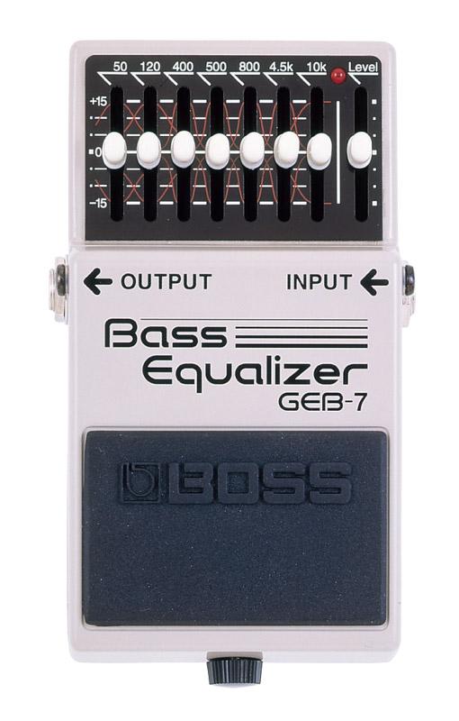 *【音色系】【BOSS(ボス)エフェクター】GEB-7(ベース・イコライザー)