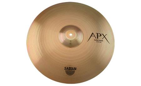 *【SABIAN(セイビアン)】【シンバル】ソリッドクラッシュシンバル APX- 16SLCS 16インチ