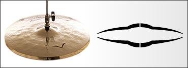 *【SABIAN(セイビアン)】【シンバル】VAULT Artisan ハイハットシンバル ボトム 14インチ VL-14BAH