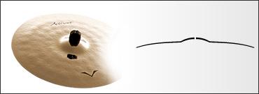 *【SABIAN(セイビアン)】【シンバル】VAULT Artisan クラッシュシンバル エクストラスィン 16インチ VL-16ACS