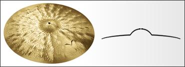 *【SABIAN(セイビアン)】【シンバル】VAULT Artisan ライドシンバル ライト 20インチ VL-20AR/L