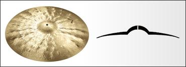 *【SABIAN(セイビアン)】【シンバル】VAULT Artisan ライドシンバル ミディアム 20インチ VL-20AR/M