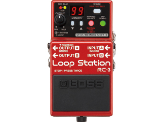 【BOSS(ボス)】【エフェクター】 ループ・ステーション RC-3