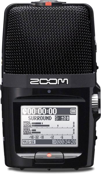 *【ZOOM(ズーム)】【レコーダー】ハンディレコーダー H2n
