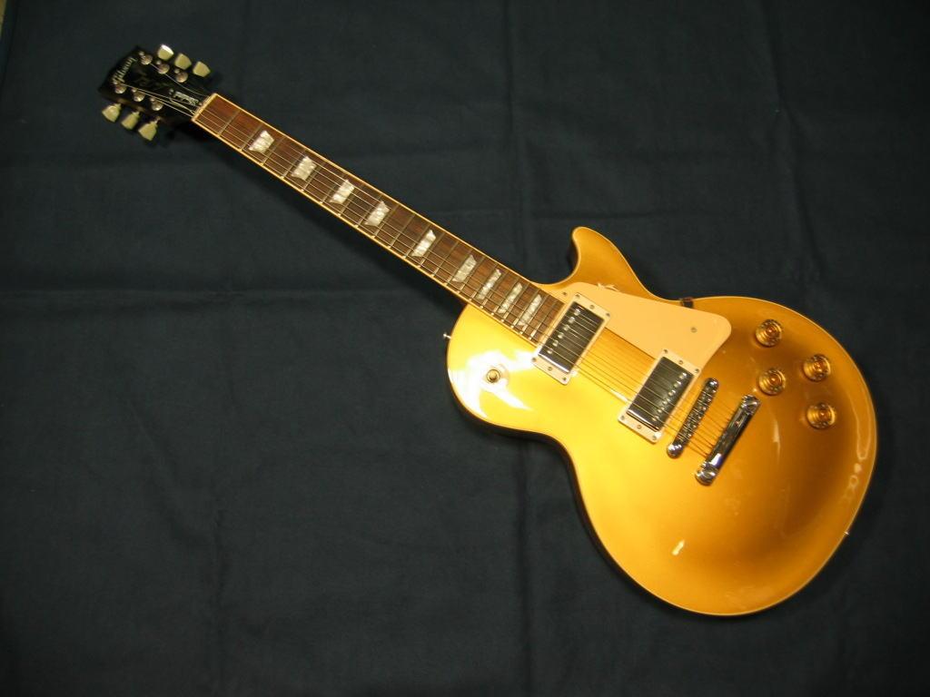 *【代引不可】【Gibson(ギブソン)エレキギター】 【長期店頭展示品の為特別価格!】LP STD Golt Top