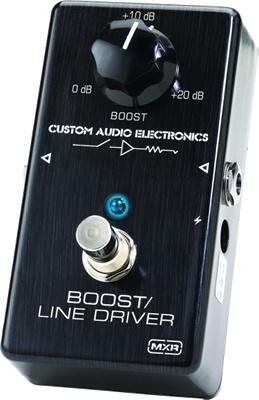 *【エフェクター】DUNLOPMXR MC-401 BOOST/LINE DRIVER