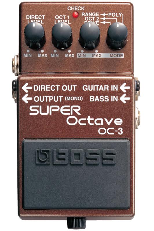 *【音程を変える】【BOSS(ボス)エフェクター】OC-3(スーパー・オクターブ)