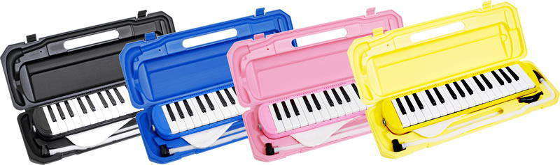 *【10台まとめ買い価格!各色取り混ぜ可能OK♪】【鍵盤ハーモニカ】メロディピアノ P3001-32K  10台セット!