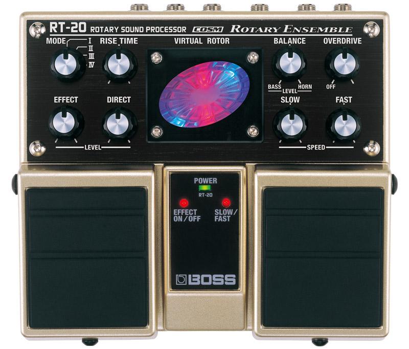 *【ツインペダル】【BOSS(ボス)エフェクター】RT-20(ロータリー・サウンド・プロセッサー)