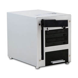オートローダーデュプリケーターTHECUBE CUB25-S2T (DVD±R/RWCD)